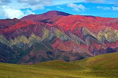 Risultati immagini per Los cerros paleta del pintor en Jujuy Argentina