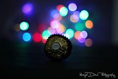 """""""Ek Hoti hai Chocolate and ek Hoti hai Fererro Rocher"""" (Khayal Dave) Tags: dave photography bokeh chocolate ek concept hai rocher hoti fererro khayal callories"""