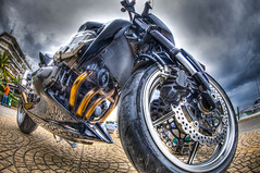 modern horse (dtsortanidis) Tags: city black color colour reflection texture boys beautiful bike bicycle clouds canon silver eos golden big interesting europe shine dynamic cloudy pavement fisheye greece fantasy moto motorcycle beast imagination canon5d motor colourful beautifil shining dynamism hdr mk futuristic 815 mkii dimitris dimitrios wheek canon5dmkii canon5dmarkii 815mm canonef815mmf4lfisheyeusm dimirtrios dtsortanidis