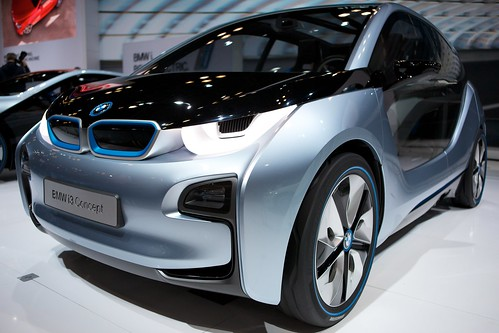BMW i3 Concept Front Quarter View