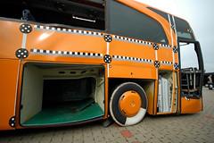 Crashtest Travego Front Collision Guard