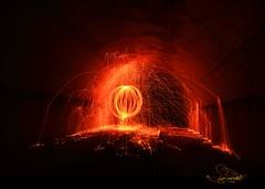 arac attack (Cani Mancebo) Tags: espaa lightpainting spain nocturnal murcia nocturna cartagena longexposuretime largaexposicin canimancebo lanadeacero