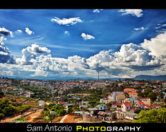 What is the Eiffel Tower doing in Dalat, Vietnam? (Sam Antonio Photography) Tags: blue clouds catchycolors cityscape vietnam dalat cloudyday travelphotography dalatvietnam vietnamcentralhighlands vietnamtravel earthasia canon5dmarkii travelingtovietnam samantonio samantoniocom dalatviewpoint eiffeltowerinvietnam scenicsoutheastasia frenchvietnam eiffeltowerasia dalatvacation dalatphotographytips canon24205f4llens travelphotographyvietnam dalatphotography