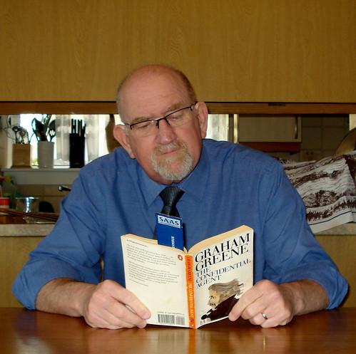 Graham Greene book fan photo