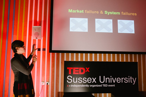 Mariana Mazzucato speaking at TEDxSussexUniversity 2012