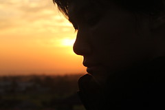 Never Let Me Go () Tags: morning portrait selfportrait sunshine sunrise landscape goldenhour
