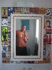this mirror has to be replaced (andres musta) Tags: wallpaper art sticker stickerart stickers combo