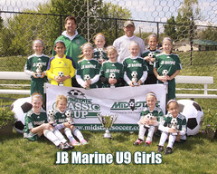"JB Marine U9 Girls • <a style=""font-size:0.8em;"" href=""http://www.flickr.com/photos/49635346@N02/7262500760/"" target=""_blank"">View on Flickr</a>"
