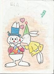 Coelhos (BiaBN) Tags: coelhos desenho hidrocor canetinha