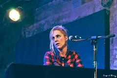 Agnes Obel @ Stereo (Ingrid Mur) Tags: uk november musician music scotland concert glasgow gig stereo danish singer agnes songwriter 2011 obel philharmonics