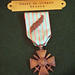 French Croix de Guerre given to the World War I Unknown - Tomb of the Unknown