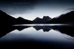 Cradle Mountain (john white photos) Tags: mountain lake reflections island dawn australia calm clean clear tasmania dovelake freshwater tasmanian cradlemountain