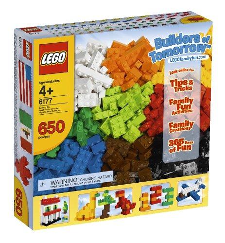 乐高LEGO Bricks & More Builders of Tomorrow 6177 基础创意拼砌系列明日建筑者颗粒套装 $26.95