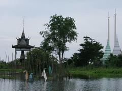 Kompong Phluk (oldandsolo) Tags: cambodia buddhism monastery motorcycle siemreap floatingvillage buddhistmonks tonlesaplake motorcyclerepair kompongphluk buddhistfaith localcambodians funeraryfacilities ethnickhmer ethniccambodians roluosvillage
