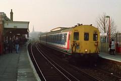 19930213 022 Lewisham Class 415 4-EPB 5462 Headcode 71 Cannon Street to Dartford via Bexleyheath (15038) Tags: electric br lewisham trains emu railways britishrail 5462 2epb 4epb class415