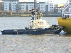Millgarth @ Gallions Reach 12-12-11 (AJBC_1) Tags: uk england london boat ship unitedkingdom vessel tugboat tug riverthames eastlondon gallionsreach northwoolwich newham svitzer ajc dlrblog ajc