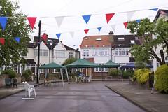 1CC (EmmaDurnford) Tags: street cambridge party rain june jubilee crescent diamond middlesex teddington unitedkindom