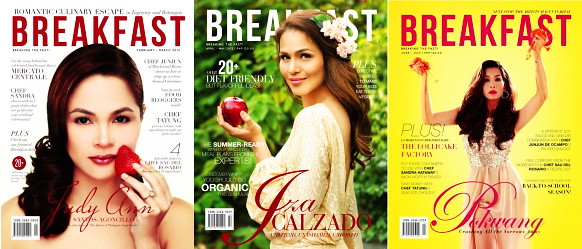 Breakfast Magazine first 3 issues