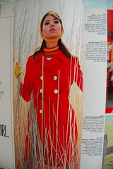 Lovely girl in the bush (<Vicky's Flicks>) Tags: fashion vintage 60s retro 1967 1960s magazines sixties seventeen