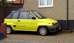 110620126766 (uk_senator) Tags: city yellow honda jazz cabriolet uksenator