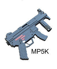 LEGO MP5KA4 (1:1) 01 (Cole Edmonson) Tags: hk gun lego replica mp5 koch heckler mp5k submachine foitsop