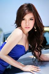 IG9C5630s (tony8888) Tags: show sexy beautiful car race thailand model pretty bangkok queen impact thai motor 2012