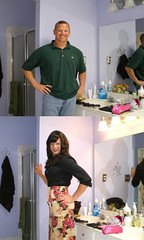 Andrea Before and After (M2F Transformations) Tags: transformation before transvestite after makeover crossdress
