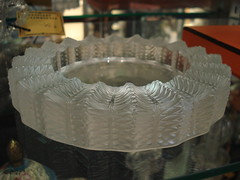 "LALIQUE ASHTRAY, CHIP. • <a style=""font-size:0.8em;"" href=""http://www.flickr.com/photos/51721355@N02/13432778993/"" target=""_blank"">View on Flickr</a>"