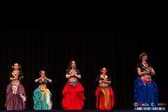 _DSC3836 (PeRRo_RoJo) Tags: light portrait espaa woman sexy luz girl luces dance retrato sony tribal baile ats vila castillaylen marieta americantribalstyle dslra580 lasherma