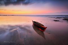 Hope III (zakies) Tags: longexposure beach hope boat slowshutter sabah proglass nikond700 kudatsabah sabahsunset zakiesphotography zakiesphoto zakiesimage