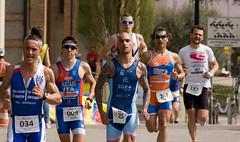 On the catwalk (copyonekenobi) Tags: sport tattoo young running athlete triathlon duathlon triathlete
