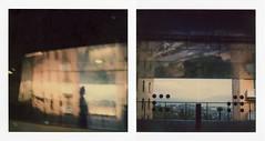 Perugia, Minimetro (La T / Tiziana Nanni) Tags: film polaroid sx70 diptych shadows analogue perugia due minimetro polaroidsx70 pellicola analogico scannedfilm polroid istantanea dittico iamyou diphtyc neinostriluoghi tizianananni