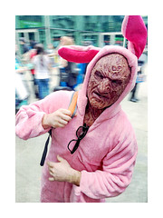 Freddy Bunny (ra1000) Tags: portrait easterbunny freddykrueger emeraldcitycomicon eccc