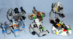 Lego - 2016 Microfighters (Darth Ray) Tags: star fighter order with lego ghost tie first prototype driver xwing wars pilot wookie resistance gunship advanced atdp hera the 2016 snowtrooper snowspeeder 75125 75126 75127 75128 75129 75130 microfighters syndulla