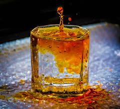 Splash (kannan kathiresan) Tags: orange water glass nikon juice freeze splash chennai blending egmore d5200