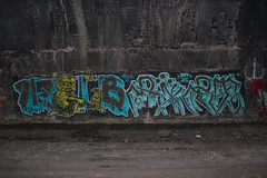 HebGb, Ript (NJphotograffer) Tags: new railroad graffiti nj rail tunnel crew jersey graff hsc trackside ript ckd hebgb