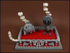 EcoBots from Pryus (Karf Oohlu) Tags: lego clockwork mecha droid bot steampunk moc