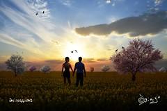 Ritrovarsi... (Biagio ( Ricordi )) Tags: italy nuvole giallo secondlife verona biagio colza selvaggia selvy82