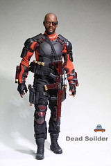 ART FIGURES AF-021 Dead Soilder - 0018 (Lord Dragon ) Tags: hot toys actionfigure doll willsmith onesixthscale deadshot 16scale artfigures 12inscale