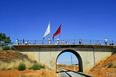 Ferreruela de Huerva035 (jmig1) Tags: nikon d70 bandera tunel teruel baile vias ferrerueladehuerva
