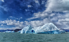 Lake Argentino (marko.erman) Tags: park blue sky patagonia sun lake cold ice nature water argentina beautiful beauty clouds landscape sony peaceful sunny glaciers serene iceberg pristine losglaciaresnationalpark