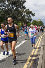 Manchester 2016 Run (12) (alsimages1 - Thank you for 860.000 PAGE VIEWS) Tags: old sun rain manchester fun shower blind tunnel run professional runners trafford runner amateur lowry participants the 2016