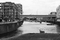 Rheinauhafen, Cologne (margaretsdad) Tags: city uk blackandwhite bw white black river germany scott scotland edinburgh bridges cologne rhine koln barron midlothian rheinauhafen d7100 scottbarron severinsbrucke