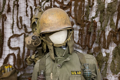Miracle of American Museum (flippers) Tags: old usa museum america vintage soldier weird us montana unitedstates military helmet retro american oldfashioned polson miracleofamericanmuseum