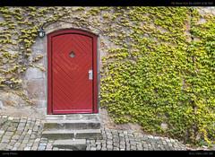 The Marburg Portals (Jannik Peters) Tags: door old brick castle wall 35mm gate sony portal 28 fe marburg a7 efeu a7ii