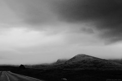 Scotland roadtrip (sandrabelder) Tags: bw dark landscape scotland landscapes ominous roadtrip
