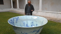 Qin Feng suona una sua opera, San Giorgio Maggiore, Venezia (Pivari.com) Tags: venezia sangiorgiomaggiore fondazionecini qinfengsuonaunasuaopera