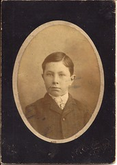 Boy In Mason City, Illinois (ilgunmkr - Mourning The Loss Of My Wife Of 52 Year) Tags: boy youth illinois 19thcentury victorian 1890s cabinetcard masoncityillinois masoncountyillinois theulassphotographer thomasheulass