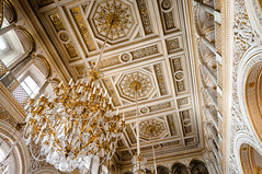 I walk into the room dripping in gold. (Je suis un escargot.) Tags: stpetersburg russia palace chandelier hermitage
