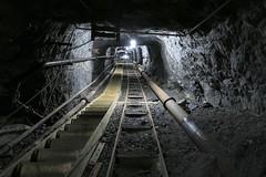 Gonzen Mine - Military Path (Kecko) Tags: underground geotagged army schweiz switzerland europe mine suisse swiss military kecko ostschweiz tunnel sg svizzera armee militr stollen 2016 militaer sargans bergwerk vild gonzen trbbach swissphoto wartau gonzenbergwerk geo:lat=47074060 geo:lon=9449030